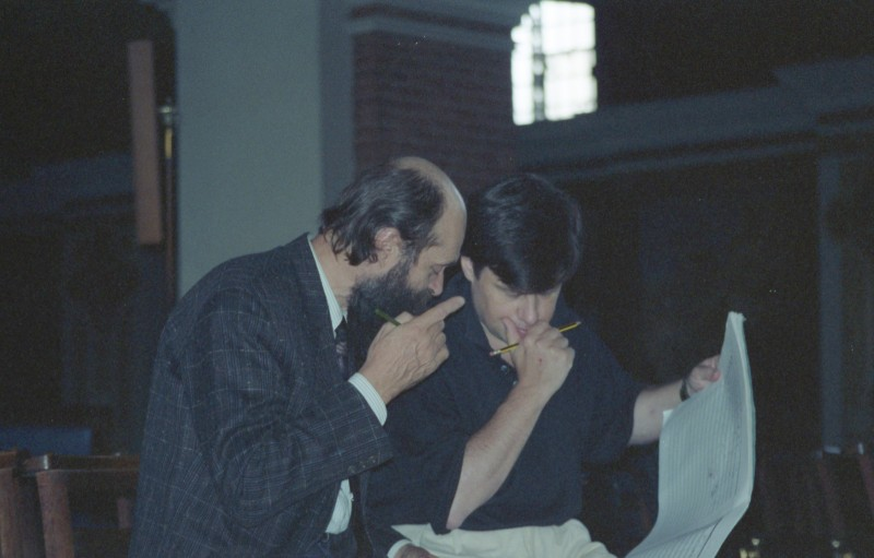 Arvo Pärt and Paul Hillier