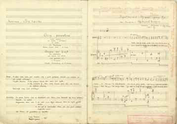 Manuscript of Eyes of the Air
